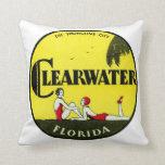 Clearwater 1925 la Florida Cojin