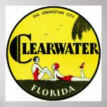 Clearwater 1925 la Florida Impresiones