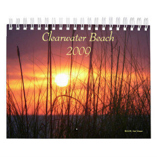 Clearwater Beach 2009 Calendar
