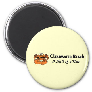 Clearwater Beach Crab Magnet