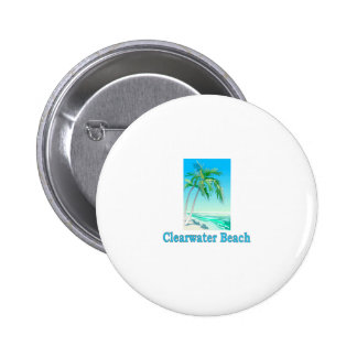 Clearwater Beach, Florida Button