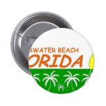 Clearwater Beach, Florida Buttons