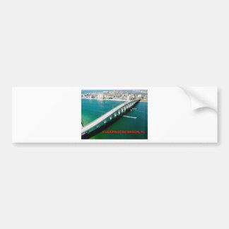 CLEARWATER BEACH FLORIDA CAR BUMPER STICKER