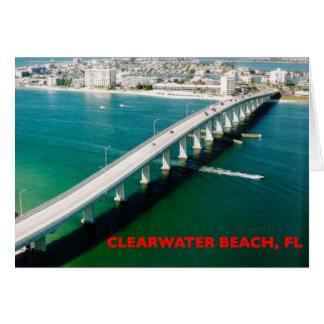 CLEARWATER BEACH FLORIDA CARD