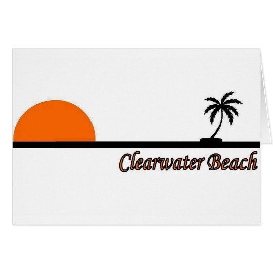 Clearwater Beach, Florida Card