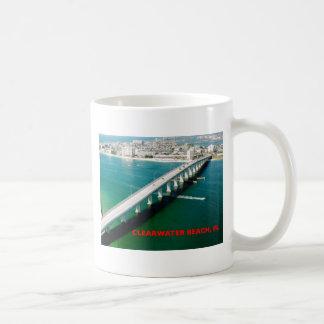CLEARWATER BEACH FLORIDA CLASSIC WHITE COFFEE MUG