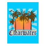 Clearwater Beach Florida FLA Post Cards