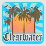 Clearwater Beach Florida FLA Stickers