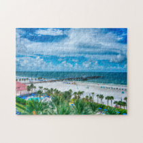 Clearwater Beach Florida. Jigsaw Puzzle