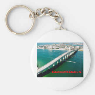 CLEARWATER BEACH FLORIDA KEYCHAIN