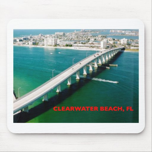 CLEARWATER BEACH FLORIDA MOUSEPAD
