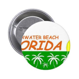 Clearwater Beach, Florida Pinback Button