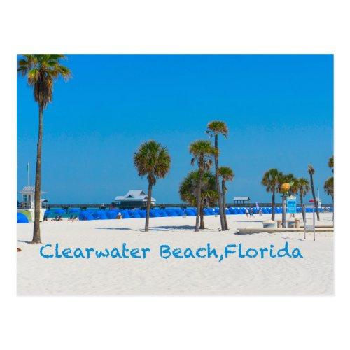 Clearwater Beach Florida Post Card