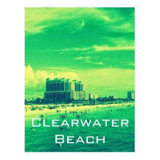 Clearwater Beach Florida Postcard