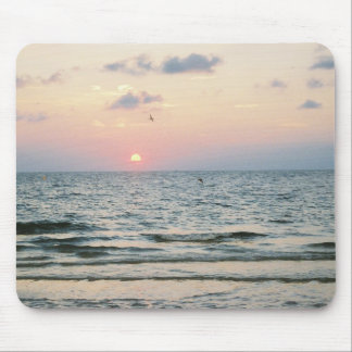 Clearwater Beach sunset mousepad