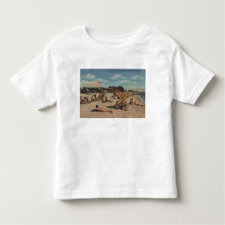 Clearwater, FL - Sunbathers on Clearwater Beach Toddler T-shirt