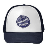 Clearwater Florida anchor swirl trucker hat