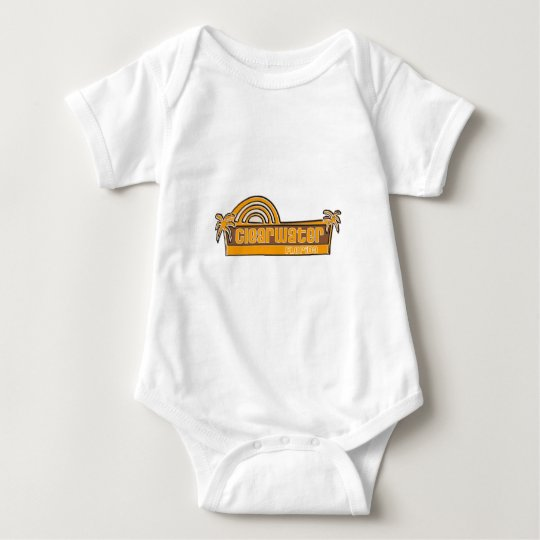 Clearwater, Florida Baby Bodysuit
