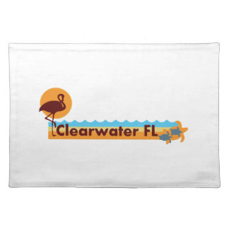 Clearwater Florida - Beach Design. Placemats