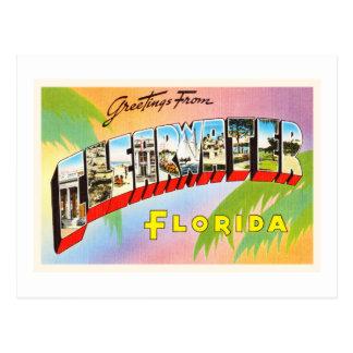 Clearwater Florida FL Old Vintage Travel Souvenir Postcard