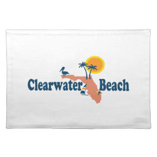 Clearwater Florida - Map Design. Placemats
