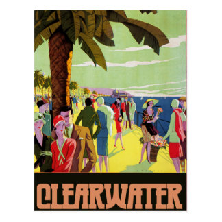 Clearwater Florida Postcard