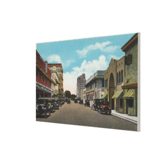 Clearwater, Florida - South View of Ft. Harrison Canvas Print