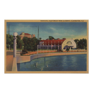 Clearwater, Florida - View of Municipal Print