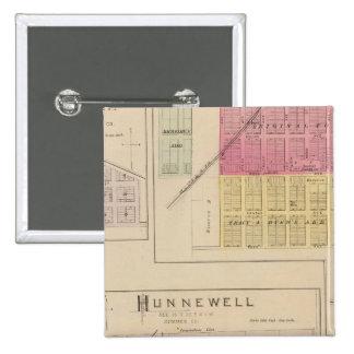 Clearwater, Hunnewell, Danville y Corbin, Kansas Pin