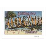 Clearwater, la Florida - escenas grandes 2 de la Postal