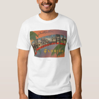 Clearwater, la Florida - escenas grandes de la Camisas