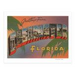 Clearwater, la Florida - escenas grandes de la Tarjeta Postal