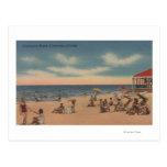 Clearwater, la Florida - vista de la playa de Tarjetas Postales
