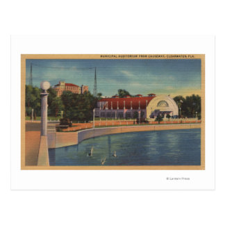 Clearwater, la Florida - vista del Municipal Postal