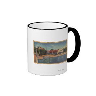 Clearwater, la Florida - vista del Municipal Tazas De Café