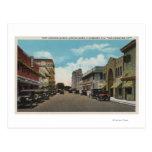 Clearwater, la Florida - vista del sur del pie Postales