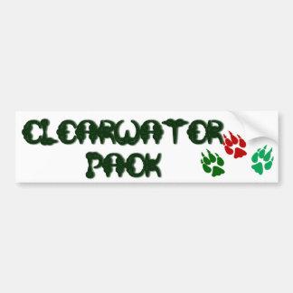 Clearwater Pack Bumper Sticker Car Bumper Sticker
