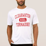 Clearwater - tornados - alto - Clearwater la Camiseta