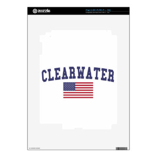 Clearwater US Flag iPad 2 Skin