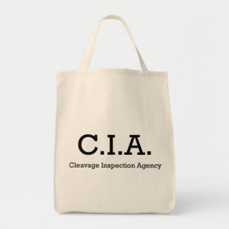 Cleavage Inspection Agency Tote Bag