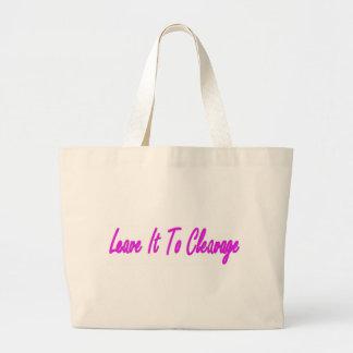 Cleavage Large Tote Bag