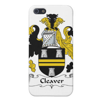 Cleaver Family Crest Cases For iPhone 5