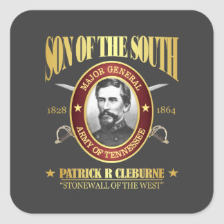 Cleburne (SOTS2) Square Sticker