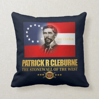 Cleburne (Southern Patriot) Throw Pillow