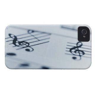 Clef agudo 2 iPhone 4 Case-Mate cárcasa