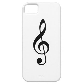 Clef agudo iPhone 5 Case-Mate carcasa