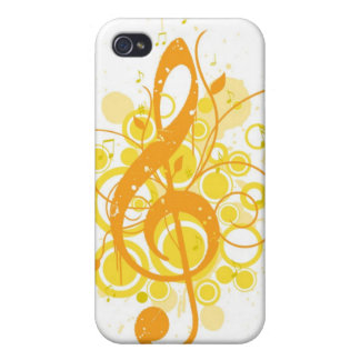 Clef agudo iPhone 4 protector