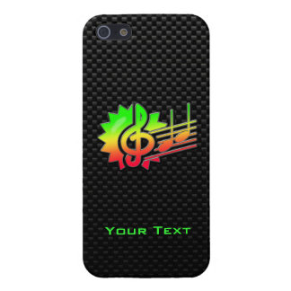 Clef agudo liso iPhone 5 protector