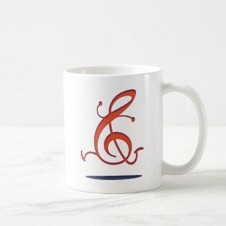 Clef allegro taza de café