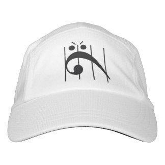 Clef bajo enojado gorra de alto rendimiento